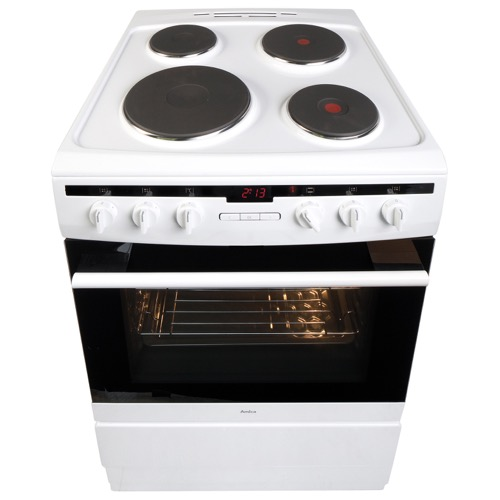 608EE2TAW 60cm freestanding electric cooker with electric plate hob, white Alternative (8)