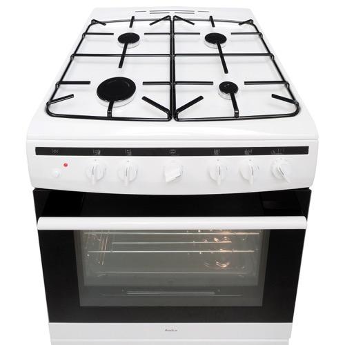 608GG5MSW 60cm freestanding gas cooker, white Alternative (2)