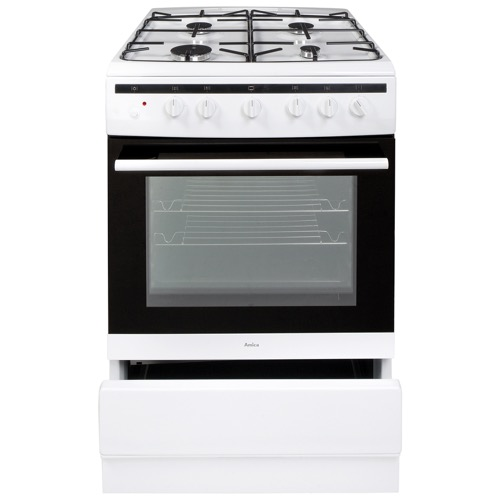 608GG5MSW 60cm freestanding gas cooker, white Alternative ()