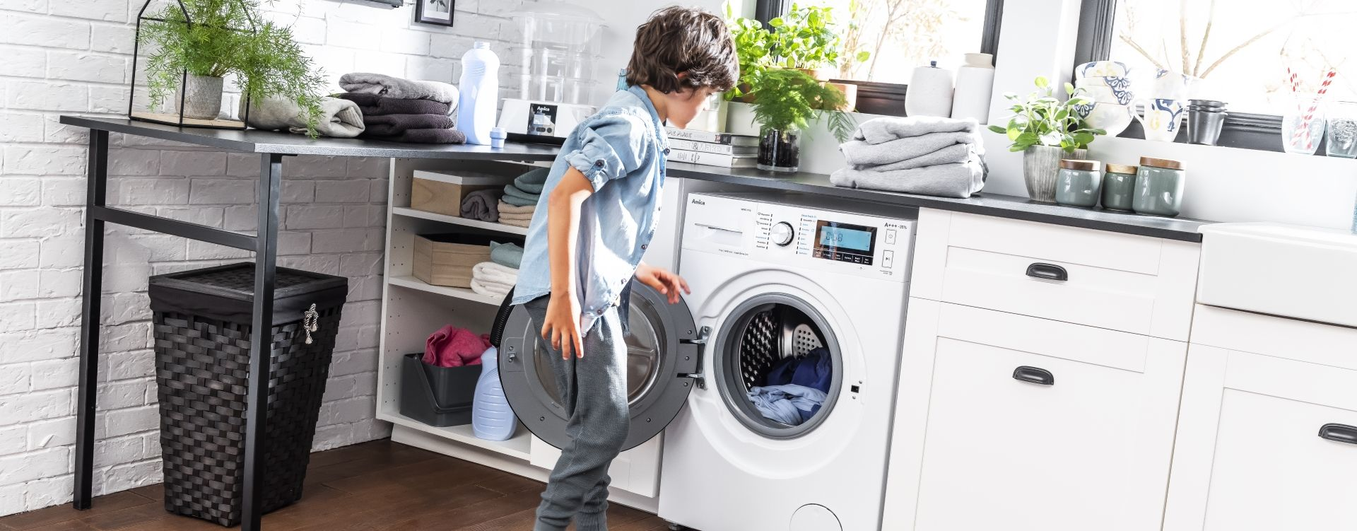 Freestanding Amica Washing Machine