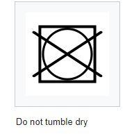 Tumble dryer symbol
